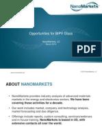 Opportunities for BIPV