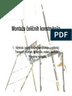 Montaza celicnih konstrukcija