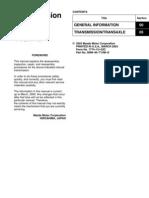 Mazda RX-8 Manual Transmission Repair Guide