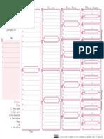 Plantilla Quadre Genealogic Emplenable