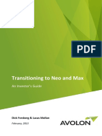 2013-02 Avolon - Transitioning to Neo and Max