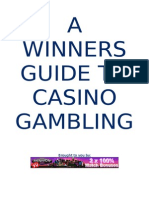 A Winners Guide to Casino