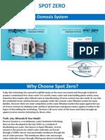 Spot Zero Reverse Osmosis