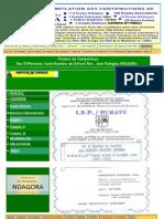 MIKEREREZI Project de Compilation Des Différentes Contributions de Défunt Rév. Jean Ruhigita NDAGORA