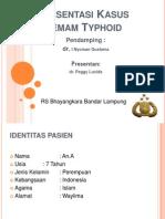 Presentasi Kasus -Typhoid