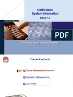OMF010001 System Information ISSUE1.5