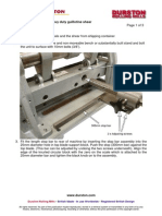 Guillotine Assembly Instructions