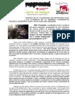 IU presenta al Foro del Henares su decálogo de medidas de cara al 2015