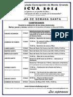 Programa de Pascua 2014