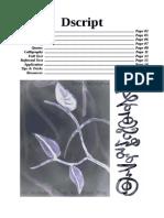 Dscript - 2D writing system V1.2