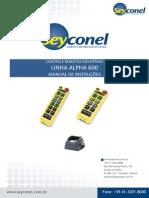 SEYCONEL - Alpha 600 - Manual de instruções