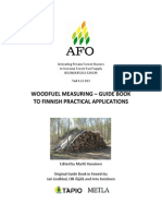 Wood fuel measuring