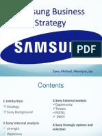 Sony Strategy