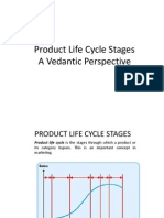Product Life Cycle - A Vedantic Perspective