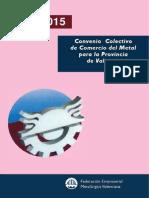Convenio Colectivo de Comercio Del Metal Para La Provincia de Valencia 2013 2015