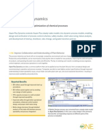 Aspen Plus Dynamics Datasheet