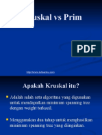 Prim and Kruskal algorithm