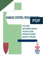 16h00 Herman Du Plessis Damage Control Resuscitation