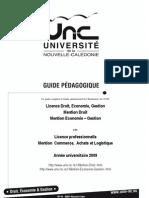 Guide Pedagogique AP Droit Et Eco Gestion 2009