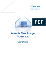 Acronis True Image Home 2010 User Guide