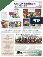 Pelham~Windham News 4-11-2014