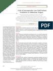 Cirugia Abdominal Junto Con Anestesia y Relacion Con Volumen Corriente Bajo (1)