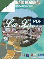 Revista del Campeonato Regional de Colombicultura de La Xara 2014