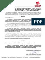 Moción de IU relativa a la recuperación del bachillerato de Ciencias en el IES Lázaro Carreter
