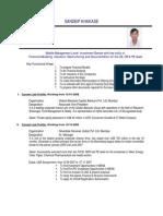 Sandeip Resume 20080223