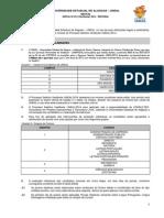 Edital Vestibular Uneal 2014-2
