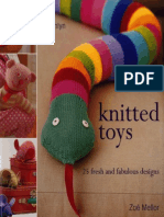 (Knitting) Hamlyn - Knitted Toys (Zoe Mellor)