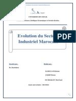 evolution du secteur industriel au MAROC.docx
