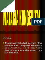 congenital malaria
