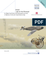 Annex to the Protocol Guidance on the use of the Protocol for Reporting Finds of Archaeological Interest in Relation to Aircraft Crash Sites at Sea