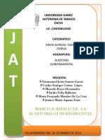 Marco Judico de La Auditoria Gubernamental