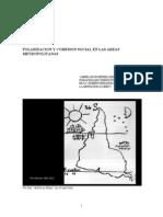 Polarizacion y Cohesion Social en Las Areas Metropolitanas