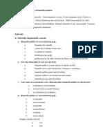 Tema 9. Externalitățile și bunurile publice.