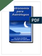 ASTRONOMÍA PARA ASTROLOGOS Primera parte.doc