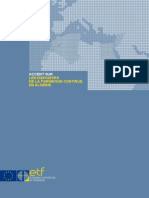 Formation continue en Algérie