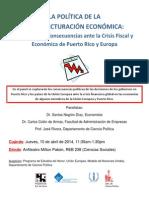 Anuncio Panel New Europe Abril Aspectos Politicos PDF