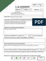 ACTA SEMANAL DE DESEMPEÑO N°2