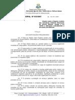 regime juridico dos funcionários SILVEIRA MARTINS