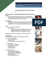 2014 RegenerativeMedicineSummerSchool Applications PDF212