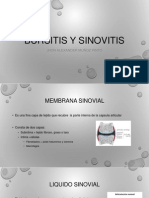 Bursitis y Sinovitis
