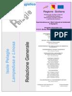 Piano Paesaggistico Isole Pelagie - Relazione_generale
