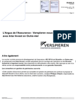 Newsletter Argus de l'Assurance Vierspieren Inter Invest Et Le Girardin Industriel