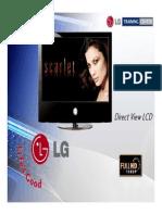 LG Flat TV 42LG60 Presentacion