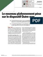 AgefiActifs Plafonnement Du Dispositif Outre-Mer - Inter Invest