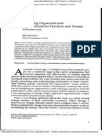 Changing Organizational Communication Practices and Norms_A Framework