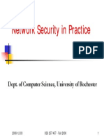 Network Security in Practice
